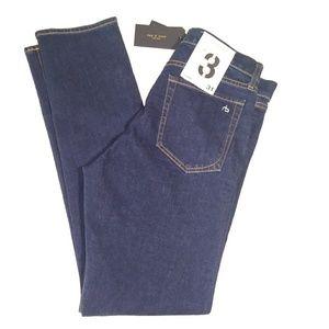 NWT Rag & Bone Clean Ace Fit 3 Classic Jeans
